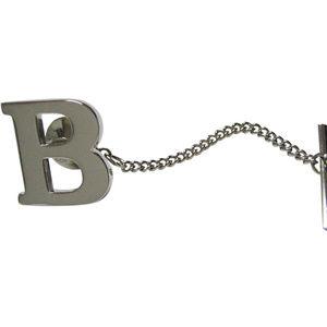 Letter B Tie Tack